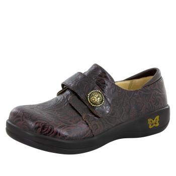 Joleen Molasses Tooled Professional Shoe