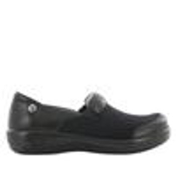 Keli Black Nappa Stretch Shoe side
