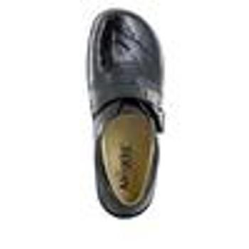 Khloe Obsidian Snake Professional Shoe top
