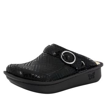 Seville Black Dazzler Clog