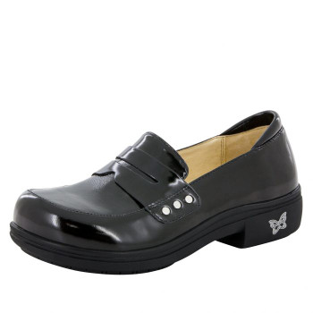 Taylor Black Waxy Shoe
