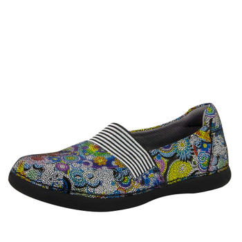 Clearance Alegria Glee Shoe in Hippie Chic Dottie (GLE-356)