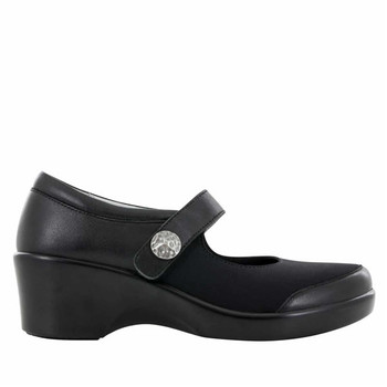 Clearance Alegria Maya Shoe in Black Nappa