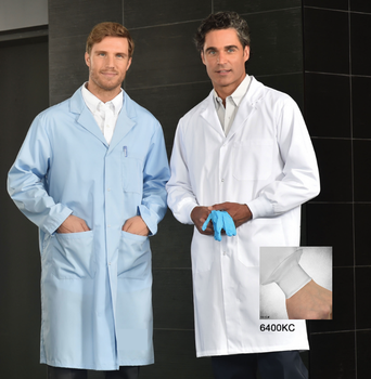Lab coats with cuffs