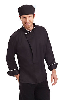 CC270 - Mandarin No Pocket Chef Coat
