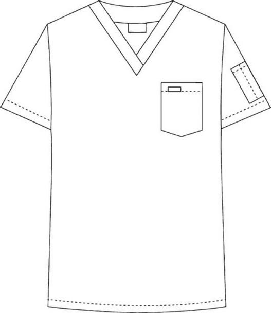 306/306 Unisex DrawString Set Top