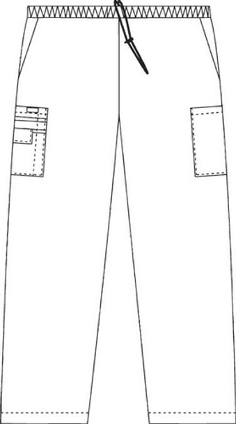 Mobb 307 Pants - Elastic Drawstring