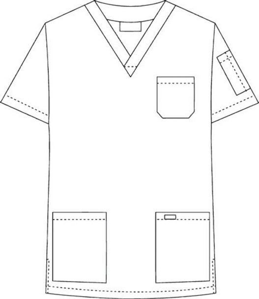 310T - Mobb Scrub Top Raw