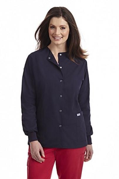 Navy lab coats - mobb lab coats