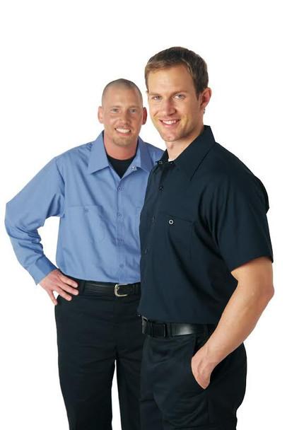 S301- Short Sleeve Button Down Work Shirt
