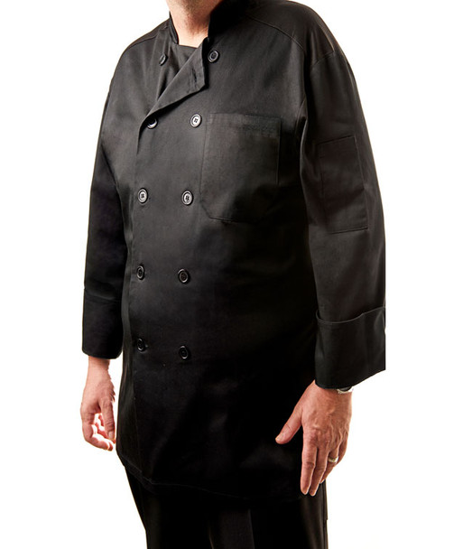 Long Sleeve Mesh Back Chef Jacket (CC650)