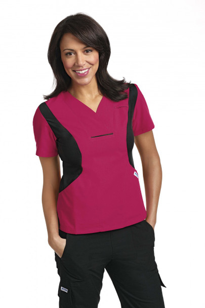 424T - Active Flexi Scrub Top