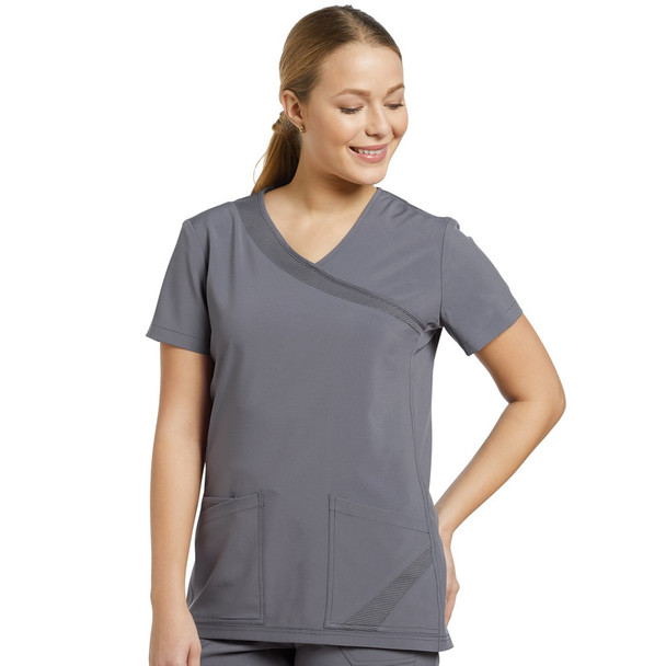 White Cross Fit Scrub Set - 748/399