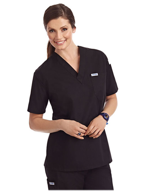unisex scrub top.