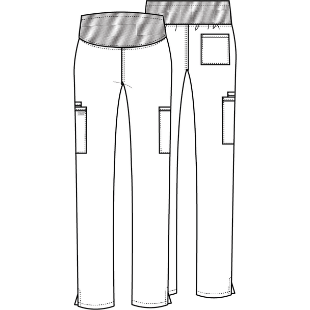 Petite Maternity Scrub Pants By Cherokee