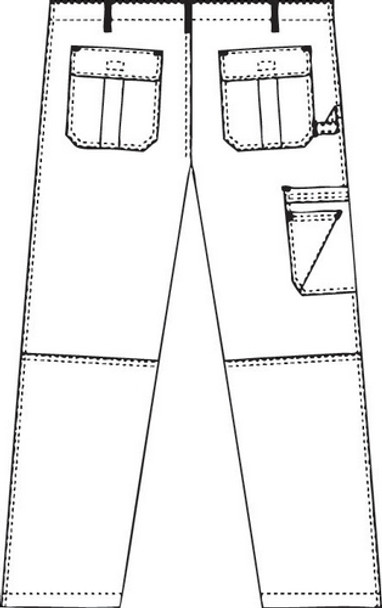 412P - Women Cargo Pants Image 3