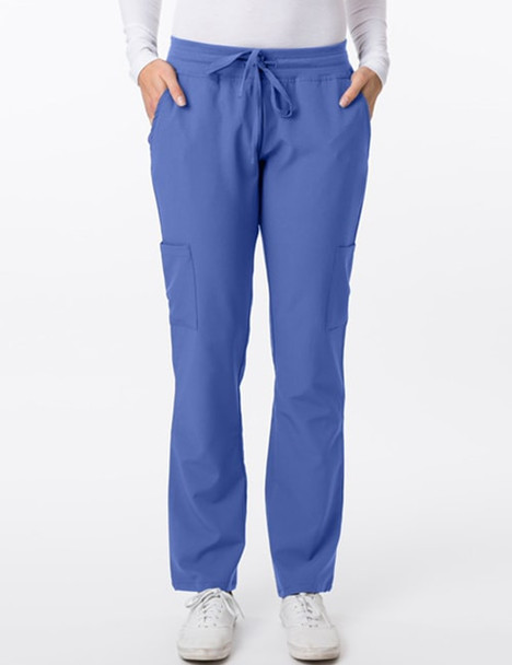 2200 - 4Flex Elastic/Drawstring Pant in Ceil Blue