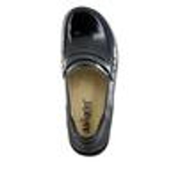 Taylor Black Waxy Shoe top
