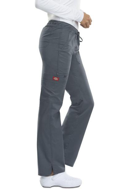 Dickies Petite Gen Flex Drawstring/Elastic Cargo Pants (DK100P)