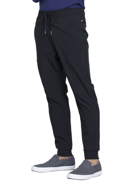 Cherokee Men's Natural Rise Jogger Pant (CK004A) in Black