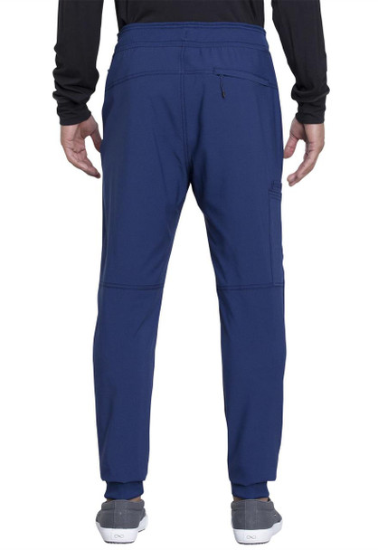 Cherokee Men's Natural Rise Jogger Pant (CK004A) in Navy