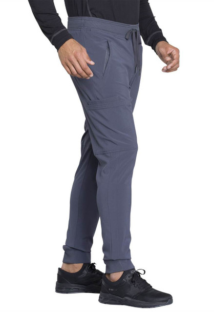 Cherokee Men's Natural Rise Jogger Pant (CK004A) in Pewter