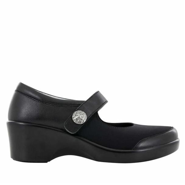 Clearance Alegria Maya Shoe in Black Nappa