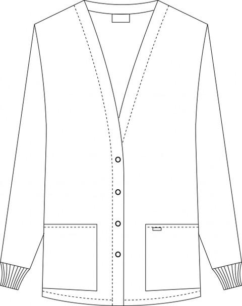 Warm Up Fleece Jacket Raw