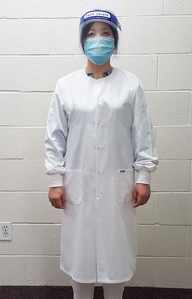 L509 cuff lab coat