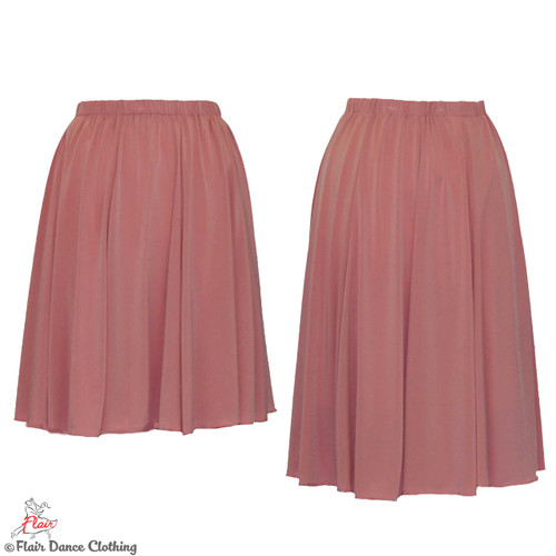 Soft Pink - solid Ronde Skirt