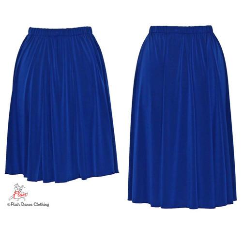 Royal Blue - solid Ronde Skirt