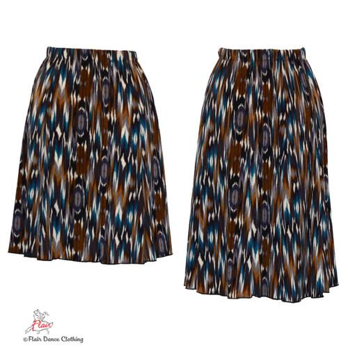 Tribal Ikat Ronde Skirt
