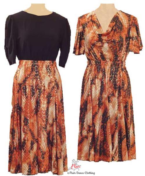 Rusty Snake Ronde Skirt