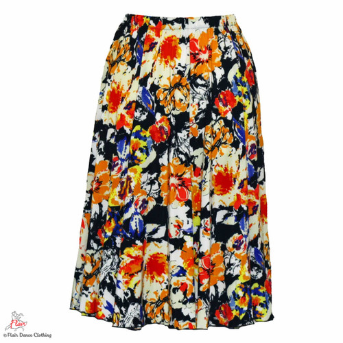 Sunny Floral Ronde Skirt