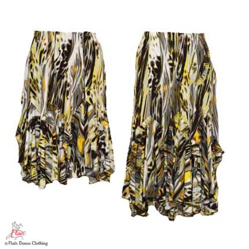 Turbulent Sea Tango Skirt