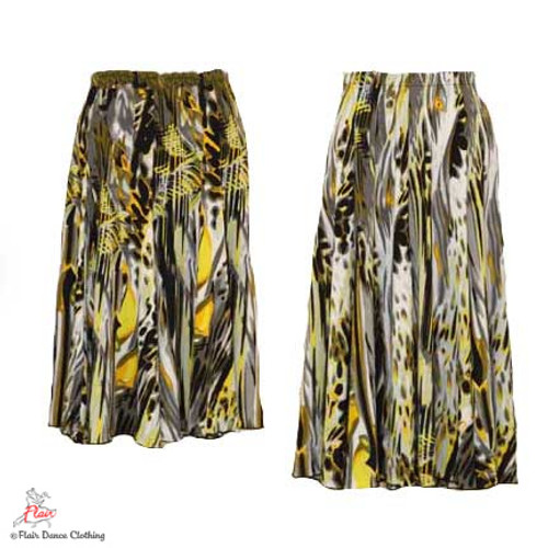 Turbulent Sea Ronde Skirt