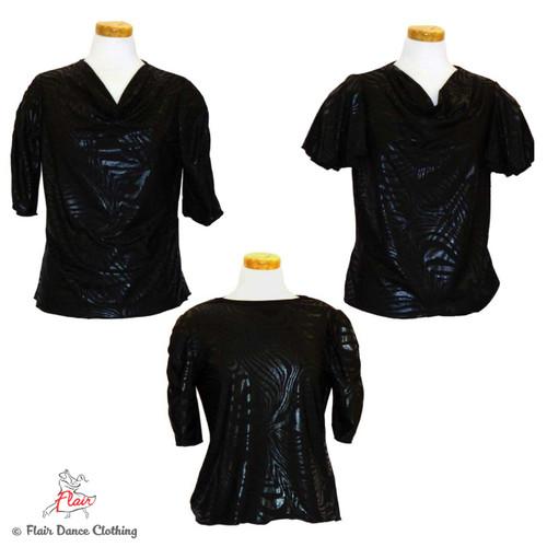 Black on Black Blouses