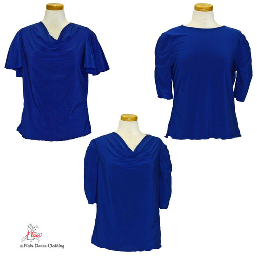 Royal Blue - solid Blouses