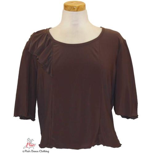 Brown - alt solid Blouses