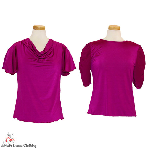 Magenta - solid Blouses