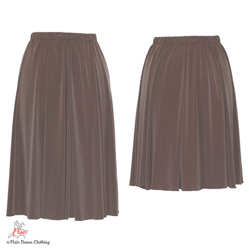 Taupe- solid Ronde Skirt