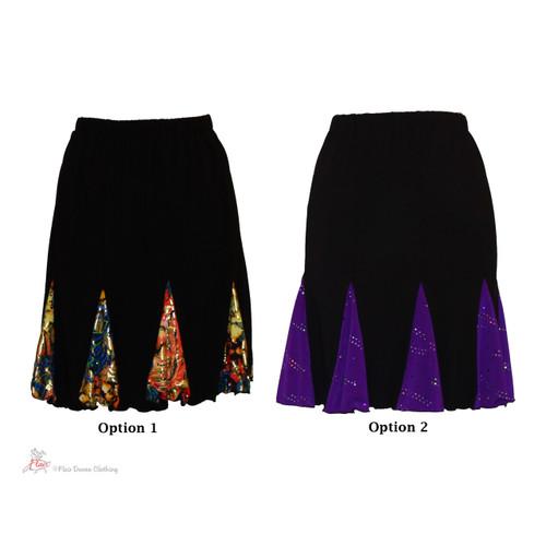 Black Knit Lindy Skirts