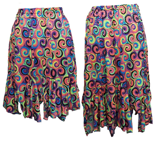 Tango Skirt duo shown for length comparison