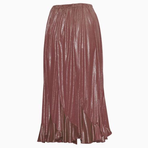 Brown Shimmer Swirl Skirts