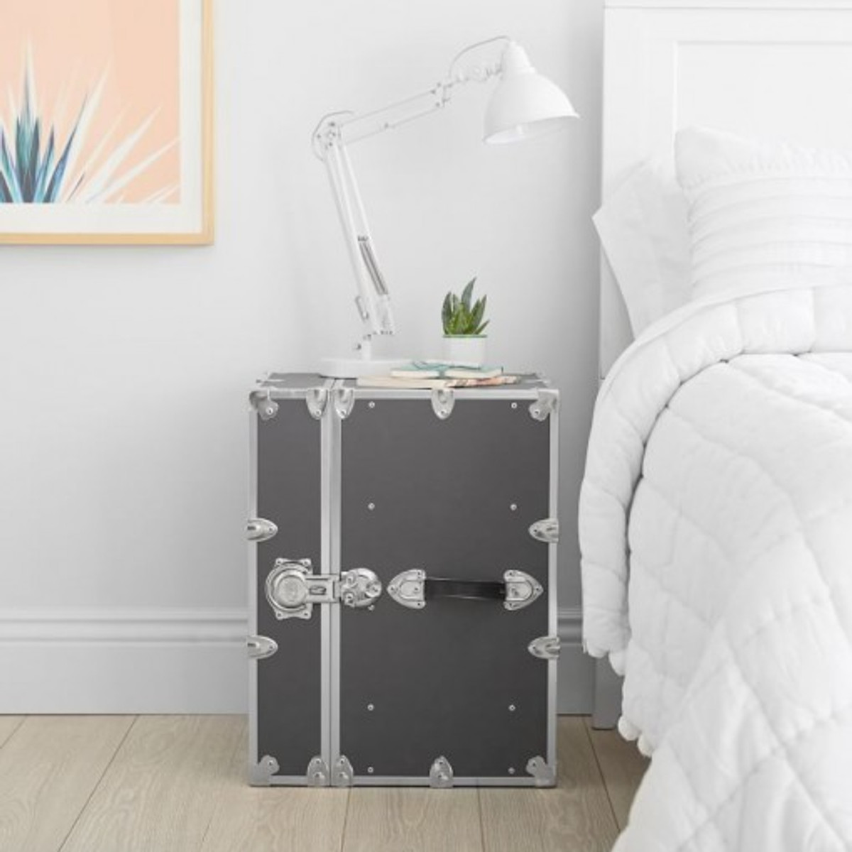 Why Your College Dorm Room Needs a Bedside Trunk