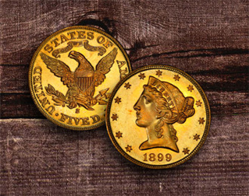 $5 Liberty Gold Coin
