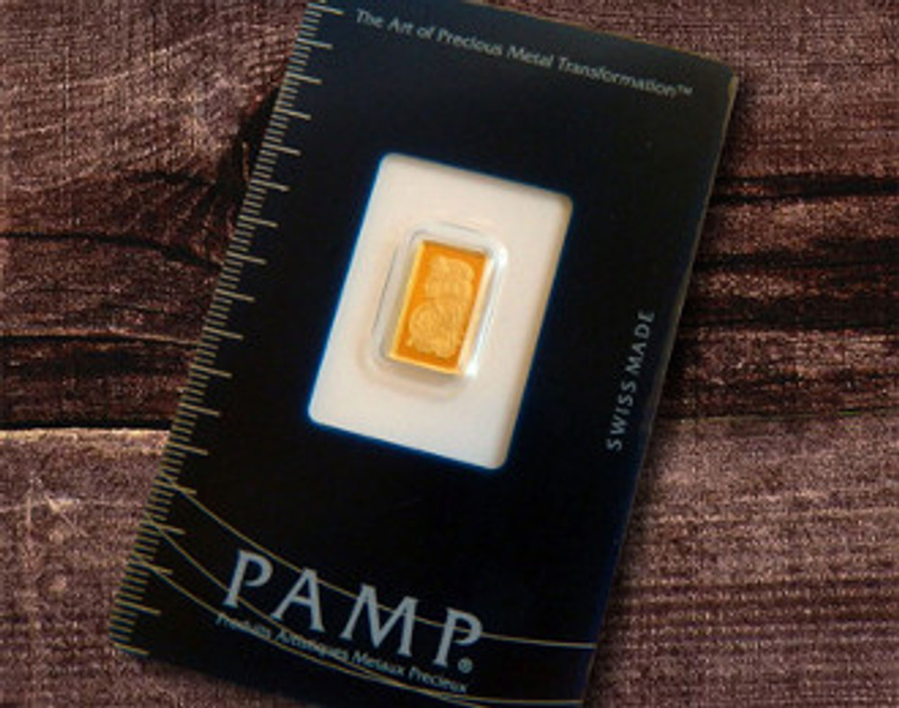 1 Gram Swiss Pamp Bar