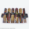 Pen blanks using Amazing Clear cast epoxy resin. Made by Pam Harris of Highland boxes