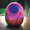 Dragon Egg using Amazing Clear cast epoxy resin. Made by David Rawlings