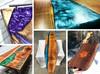 Ecopoxy Metallic Colour Pigments (10 x 5 gram) - Set 2